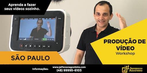 Workshop de PRODUÇÃO  DE VÍDEO  - São Paulo