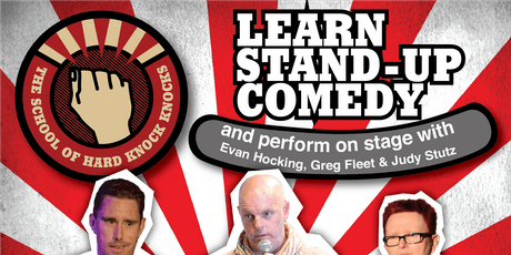 Melbourne: Learn Stand-up Comedy - Evenings: July 21 - 25, 2019 tickets