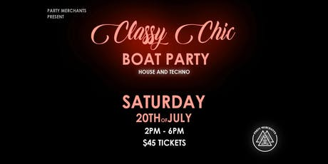 Classy Chic Boat Party tickets