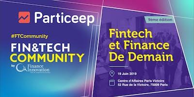 Particeep partenaire du Fintech community