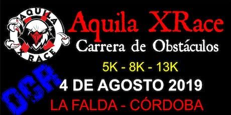 """Aquila X Race La Falda """"Edición Invierno 2019""""- Carrera de Obstáculos entradas"""
