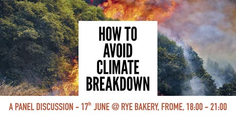 How to Avoid Climate Breakdown (Frome) tickets
