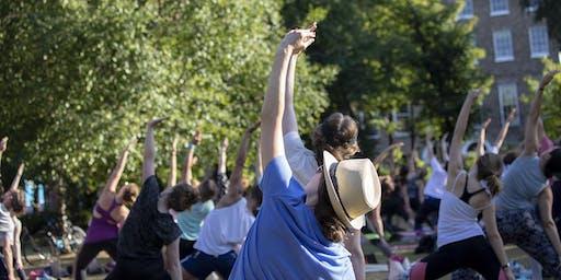 Free Yoga Classes in Bushy Park - from Camile Thai