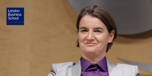 In Conversation with Ana Brnabić, Prime Minister of Serbia