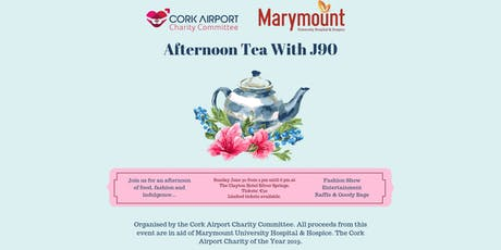 Ladies Afternoon Tea with J90 in Aid of Marymount tickets