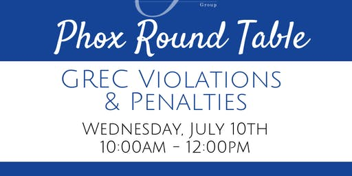 How to Avoid GREC Violations & Penalties