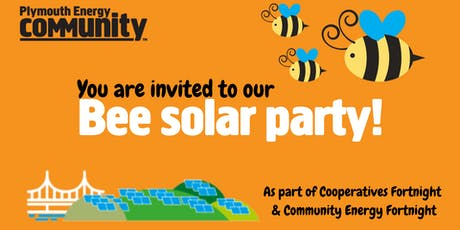 Bee solar party! tickets
