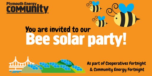Bee solar party!