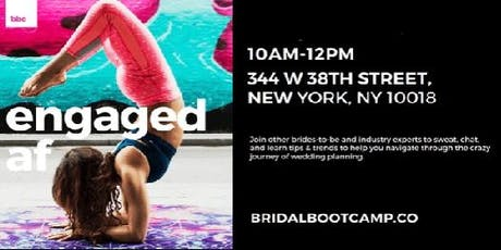 NYC Bridal Boot Camp tickets
