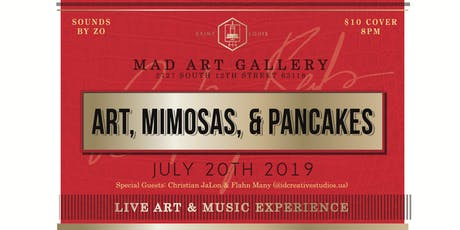 Art, Mimosas & Pancakes tickets