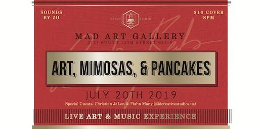 Art, Mimosas & Pancakes