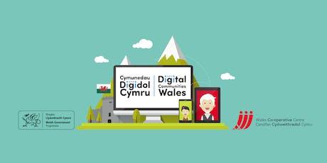 Introduction to supporting someone to get online | Cyflwyniad i gefnogi rhywun i fynd ar-lein - Pentre tickets