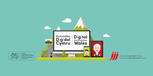 Introduction to supporting someone to get online | Cyflwyniad i gefnogi rhywun i fynd ar-lein - Pentre