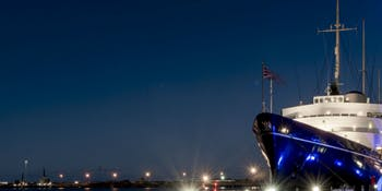 Swing into Christmas Aboard the Royal Yacht Britannia with overnight stay - 6th December