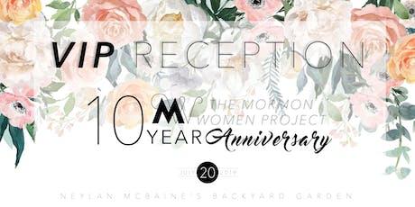MWP 10th Anniversary: VIP RECEPTION tickets