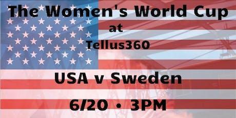 Women's World Cup: USA v Sweden tickets