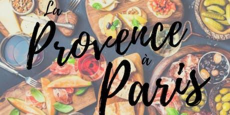 Afterwork : la Provence à Paris billets