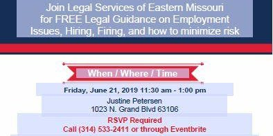 Lunch and Learn with Legal Services of Eastern Missouri