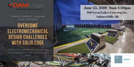 Solid Edge Wiring & Harness Design Educational Seminar (Auburn Hills, MI) tickets