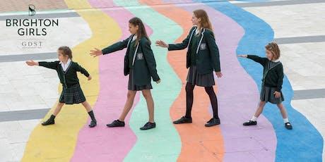Brighton Girls Open Doors & Masterclass tickets