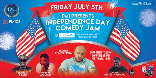 Independence Day Comedy Jam