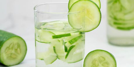 Cool as a Cucumber: A Guide to Infused Waters tickets