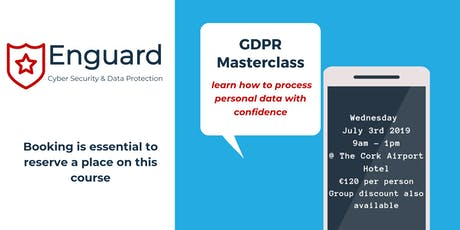 GDPR Masterclass - Learn How To Process Personal Data With Confidence tickets