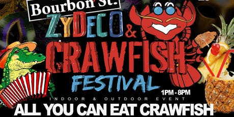 Bourbon St. Zydeco & Crawfish Festival | June 23rd @ Bourbon St. Daiquiris tickets