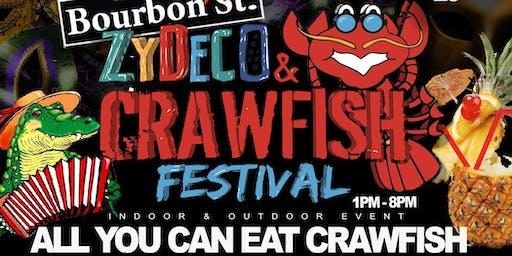 Bourbon St. Zydeco & Crawfish Festival   June 23rd @ Bourbon St. Daiquiris