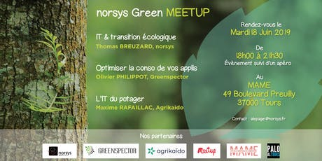 Norsys Green Meetup billets