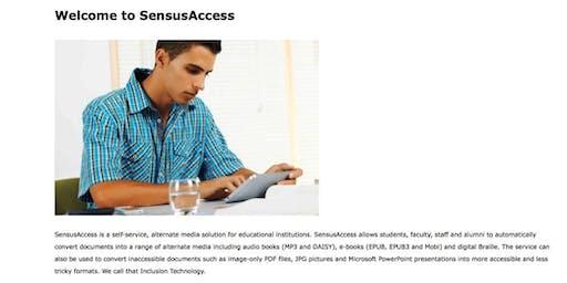 Sensus Access Training Event