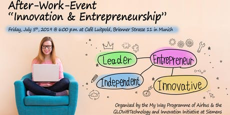 "After-Work-Event ""Innovation & Entrepreneurship"" tickets"