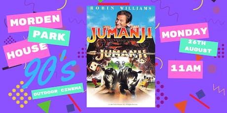 Morden Park House 90's Outdoor Cinema Presents Jumanji   tickets