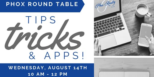 Phox Round Table - Tips, Tricks, & Apps, Paperless, GMAIL, Google Docs, & more!