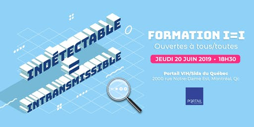 Formation Indétectable = Intransmissible