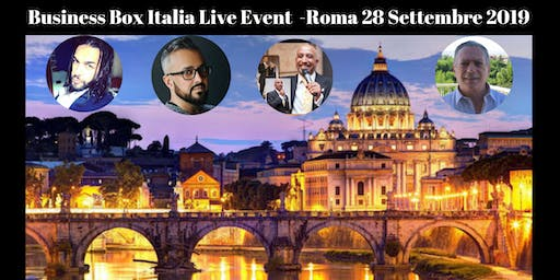 Business Box Italia Live Event Roma