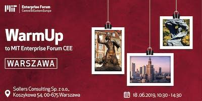 WarmUp to MIT EF CEE - Warszawa