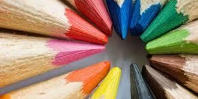 Fall19DS1 - Colored Pencil Drawing - Tues, 10/01 to 11/05, 10am-12pm