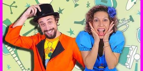 Espetáculo Nessa Festa tem Bagunça *Especial dia do Rock|Musical infantil| Sesc Centro ingressos