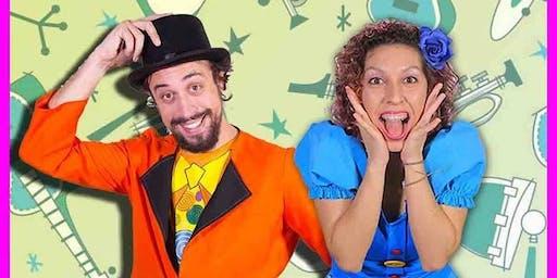 Espetáculo Nessa Festa tem Bagunça *Especial dia do Rock|Musical infantil| Sesc Centro
