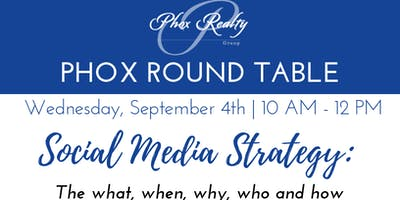 Phox Round Table - Social Media Strategy