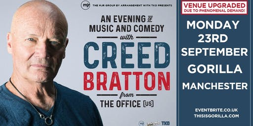 Creed Bratton From The Office (US Version) (Gorilla, Manchester)