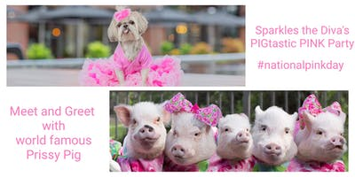Sparkles the Diva's PIGtastic PINK Party