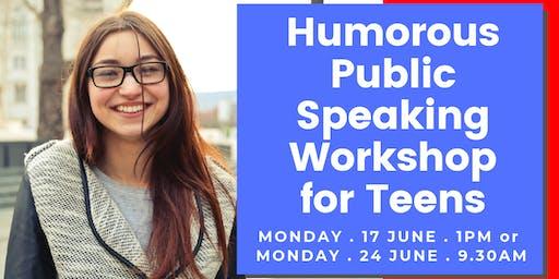 Humorous Public Speaking for Teens