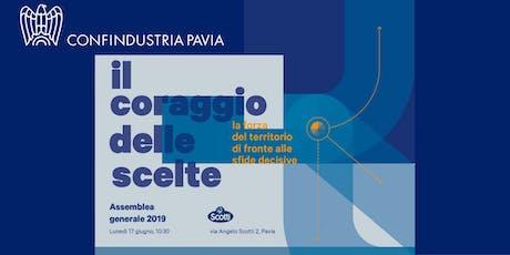 Assemblea Generale Confindustria Pavia 2019 biglietti