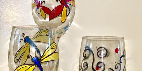 "Le Paint - Dip, Dab, Drink! "" Creative Glassware"" tickets"