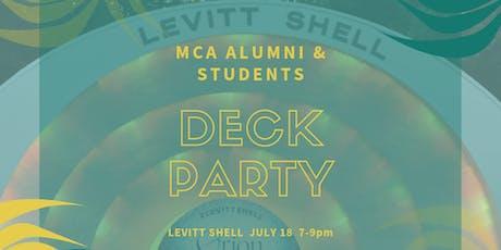 MCA Deck Party! tickets