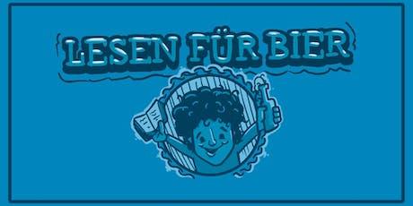 Lesen für Bier mit Lucas Fassnacht Tickets
