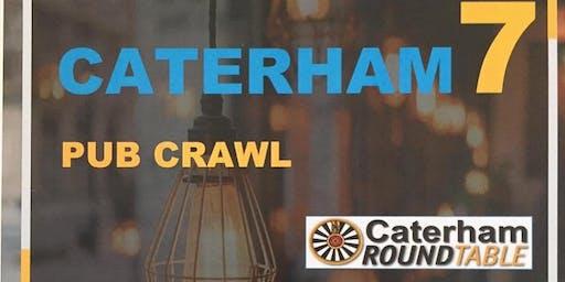 Caterham 7 Pub Crawl - Part of Caterham Festival