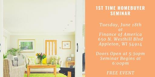 1st Time Homebuyer Seminar